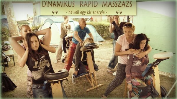 Dinamikus Rapid Masszázs - Everness Fesztivál