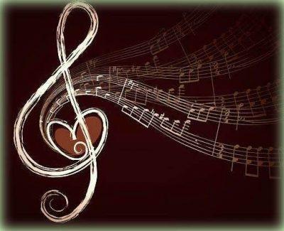 violinkulcs és hangjegyek