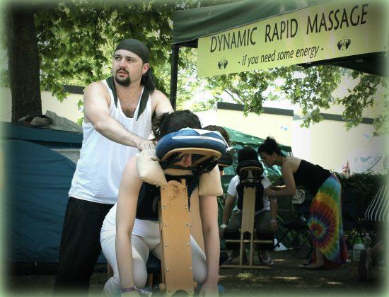 Everness Fesztivál - Rapid Massage Service