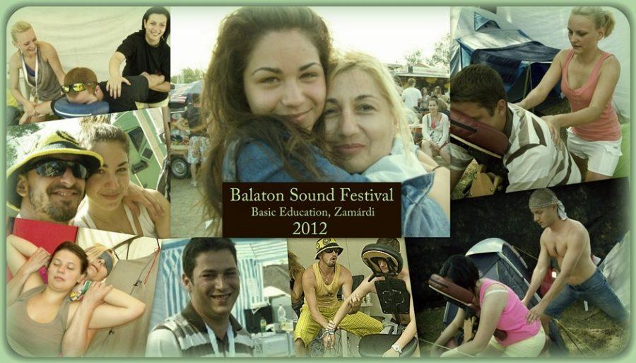 Balaton Sound Fesztivál, alapképzés 2012