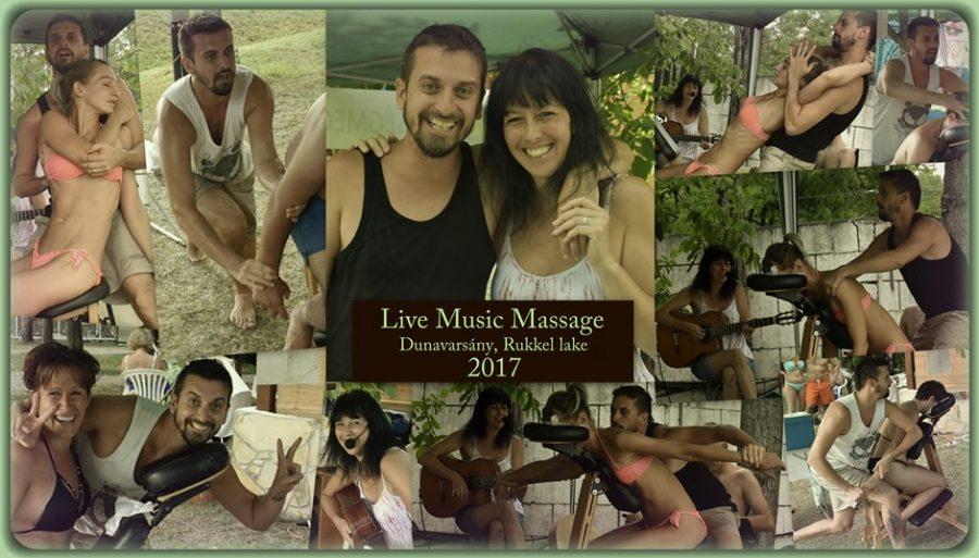 Dinamikus Rapid Masszázs élőzenével 2017