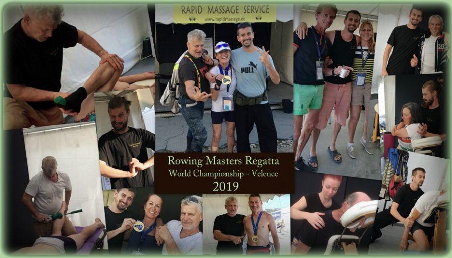 Evezős Masters VB - Velence 2019