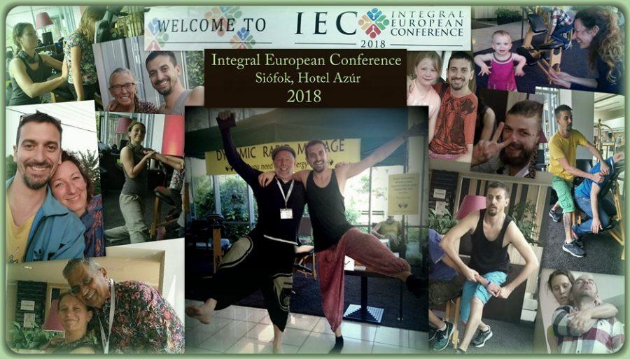 Integral European Conference - Siófok 2018