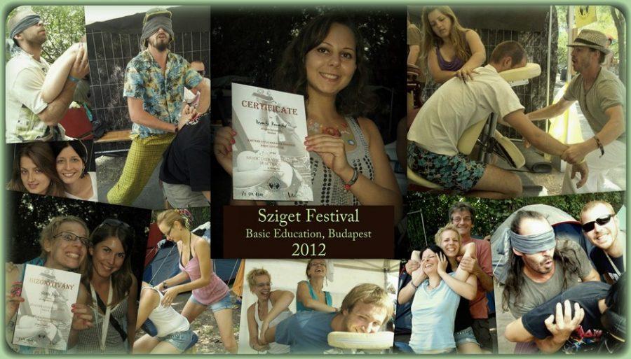 Sziget Fesztivál, alapképzés 2012