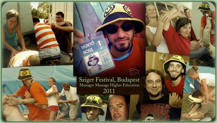 Sziget Fesztivál, Manager Masszázs Továbbképzés 2011