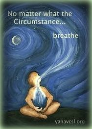 csak lélegezz - festmény